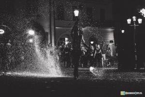 Nocne Teatralia Strachy IX Fireshow